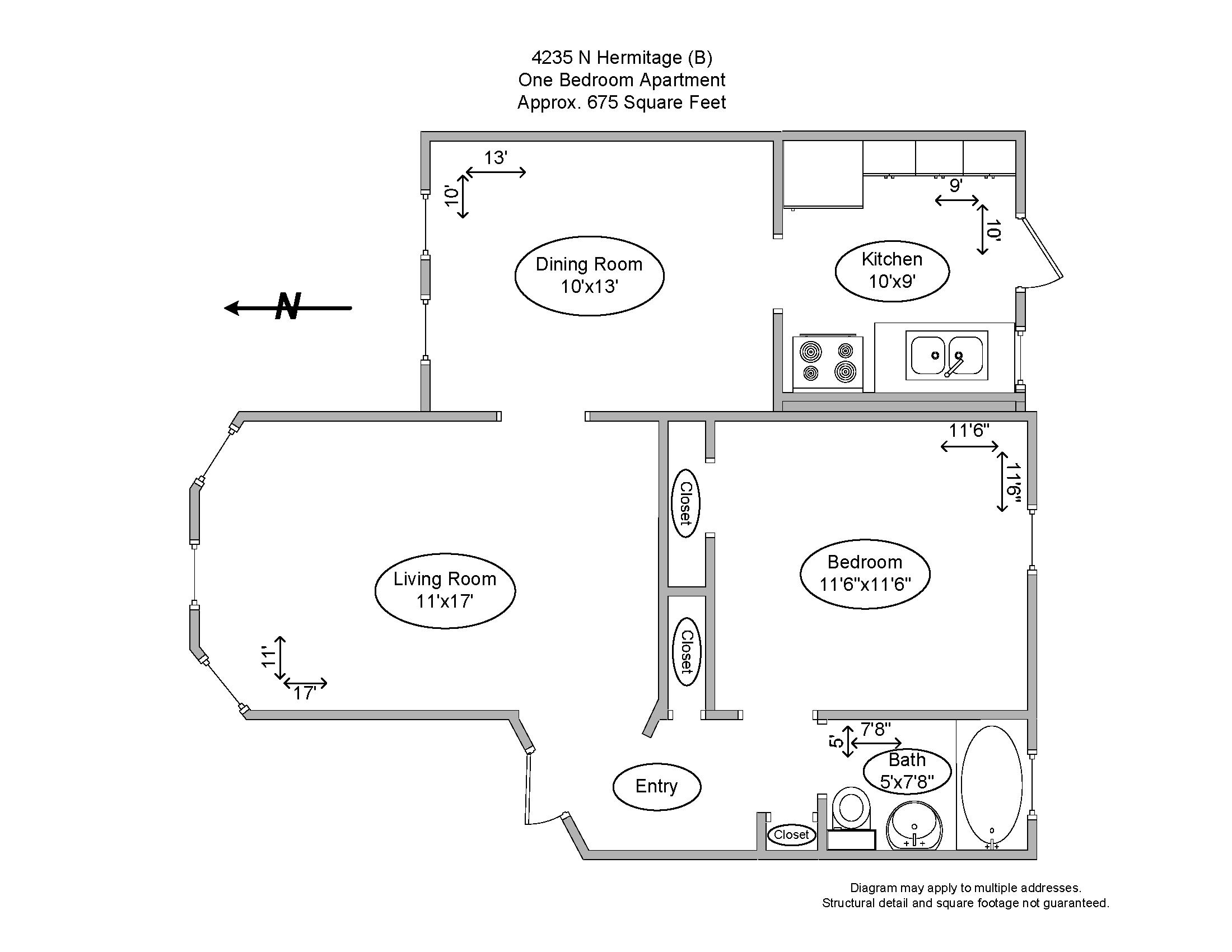 4235 N. Hermitage (B)