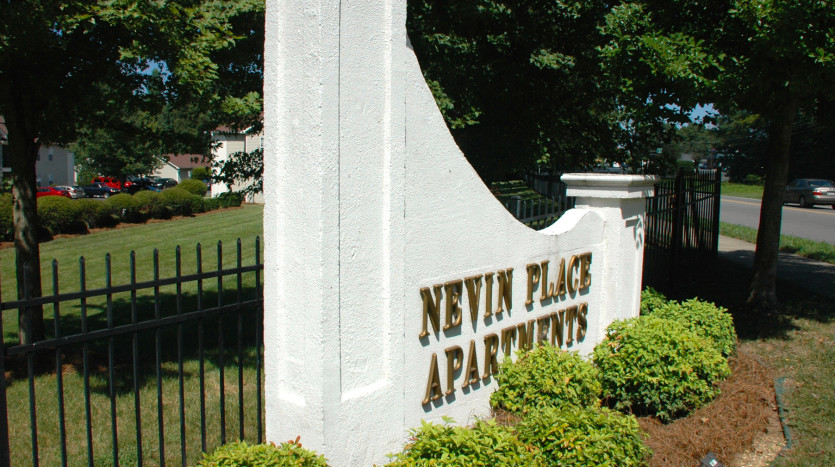 Nevin Place Sign