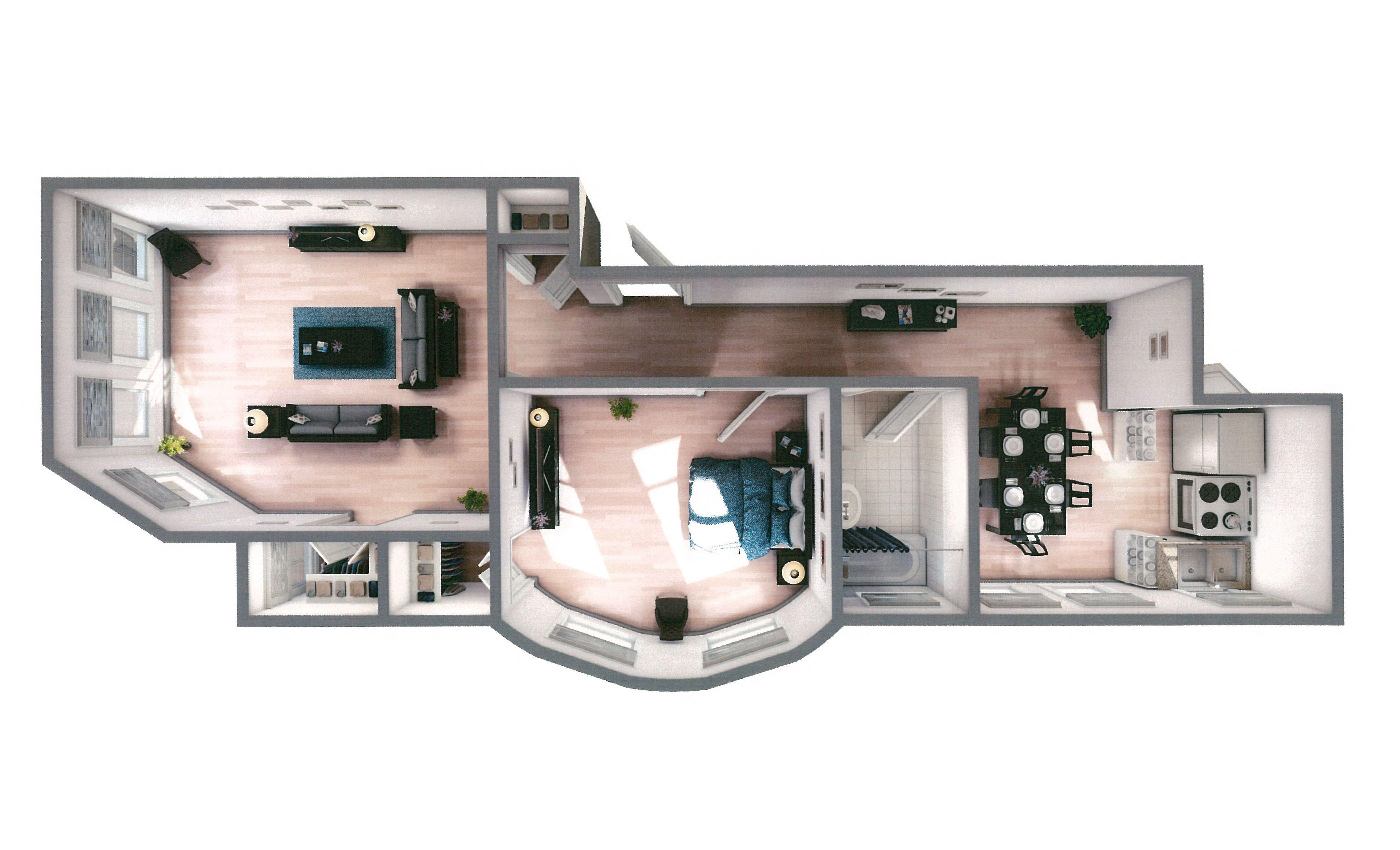 4918 N. Wolcott - 3D