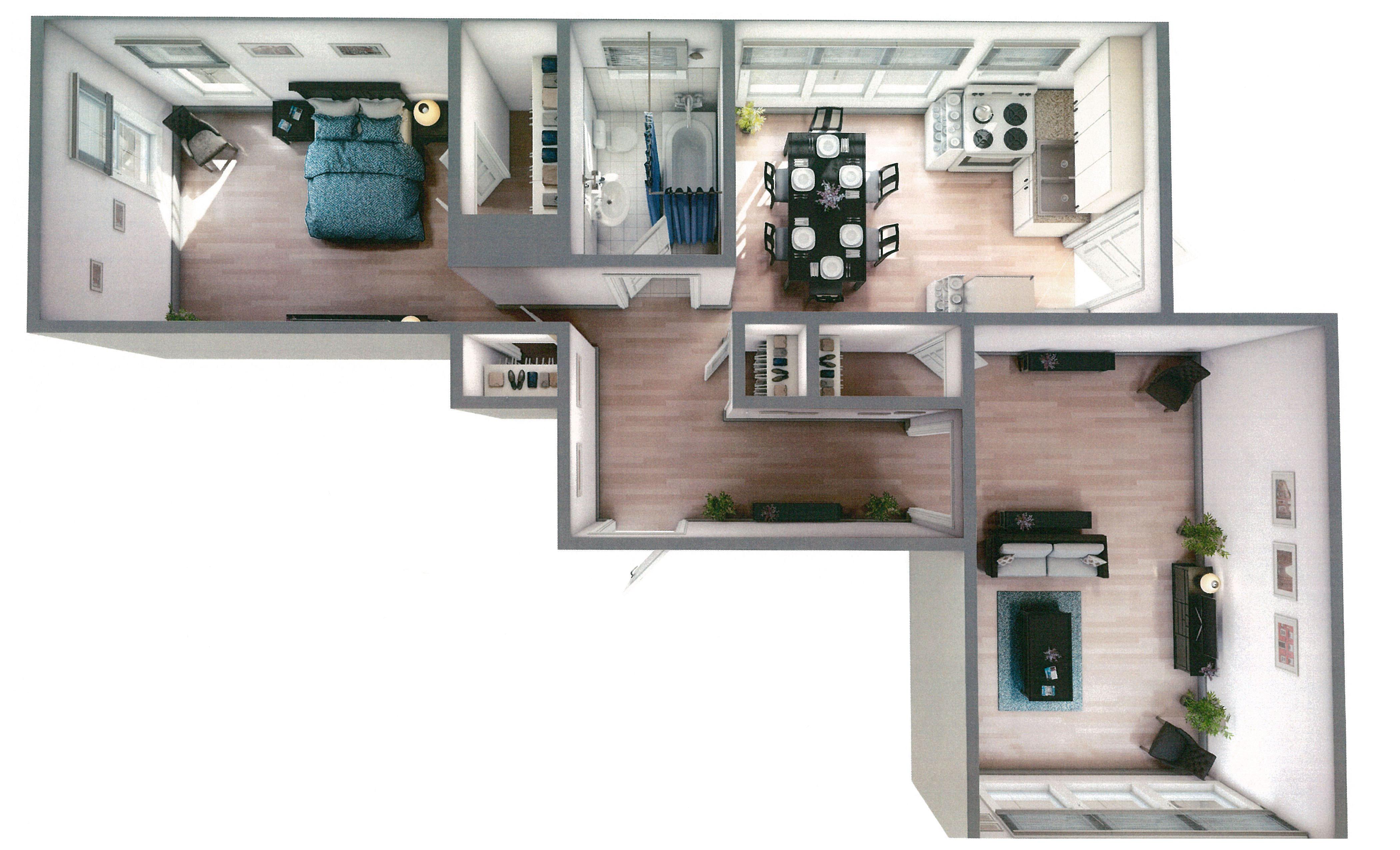 4235½ N. Hermitage - 3D